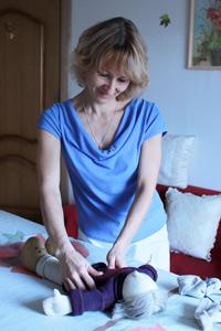 Надежда Джалилова, специалист по массажу для беременных