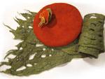Схема вязания спицами и крючком женский шарф капор.