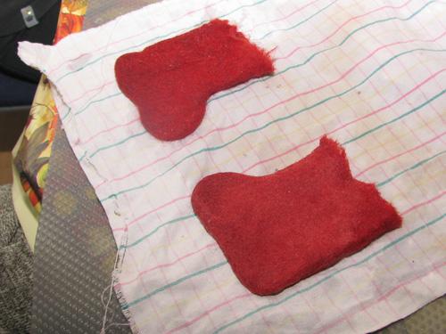 Заготовки для кукол, валяных из шерсти